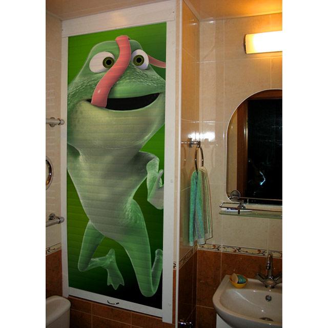 Рольставни с рисунком в туалет цена